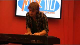 "MIX 107.7 welcomes: Jon McLaughlin ""Industry"""