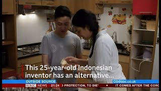 Seaweed packaging - how good can it be? (Indonesia) - BBC News - 3rd October 2018