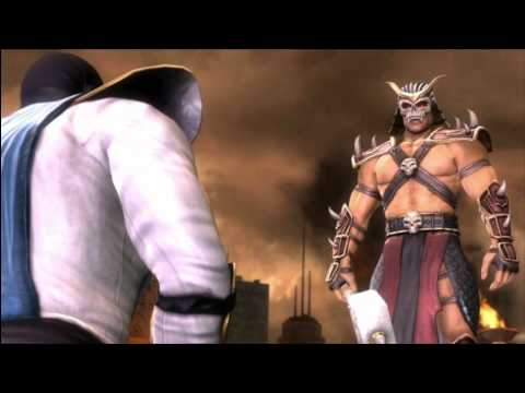 MK9 story mode Chapter 16: Raiden and conclusion cutscene