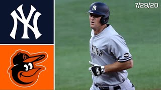 New York Yankees @ Baltimore Orioles | Game Highlights | 7/29/20