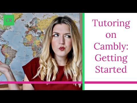 Tutoring with Cambly