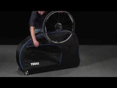 Thule RoundTrip Traveler 100503 kerékpár szállító bőrönd