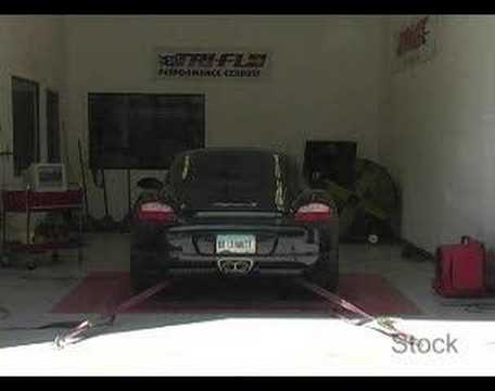 Porsche Cayman S 05-08 Dyno Test – Billy Boat Exhaust