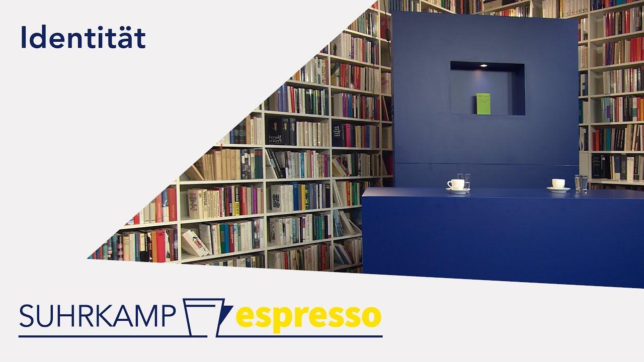 Identität –<br><i>Suhrkamp espresso</i> #4