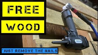 FREE WOOD!! (*just remove the nails) - Air Locker AP700 Nail Remover
