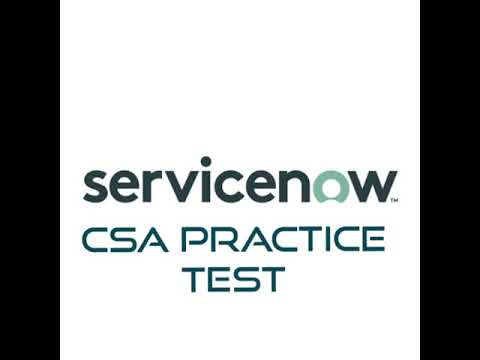 SERVICENOW CERTIFIED SYSTEM ADMIN MOCK TEST - YouTube