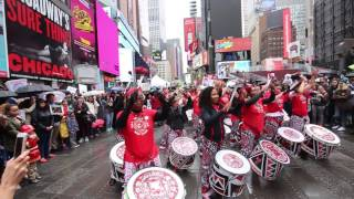 TimesSquare served as a public stage for thousands of New Yorkers who