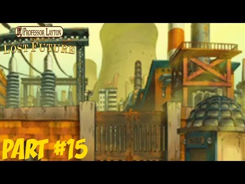 Professor Layton and the Lost Future - Part 15: Dimitri's Research Facility + Meeting Celeste!