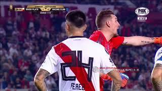 River Plate Vs Racing Club (3-0) Copa Libertadores 2018 - 8tavos Vuelta - Resumen FULL HD