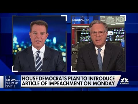 Download House Democrats plan to move forward with impeachment of Trump on Monday if he doesn't resign Mp4 HD Video and MP3