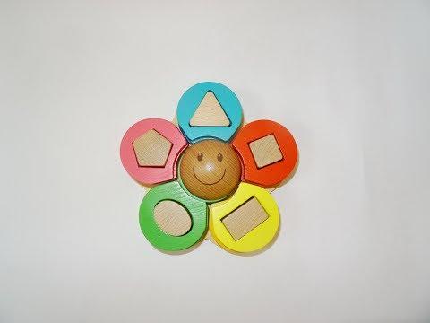 Учим фигуры и цвета на английском языке. Teach shapes and colors.