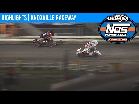 World of Outlaws NOS Energy Drink Sprint Cars Knoxville Raceway, August 9, 2019 | HIGHLIGHTS