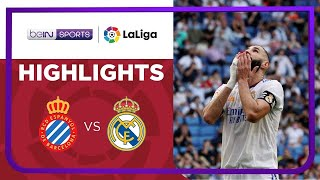 Espanyol 2-1 Real Madrid Pekan 8