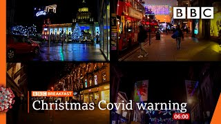 Covid: Relaxation of UK Christmas rules 'unlikely to change' ? @BBC News live - BBC