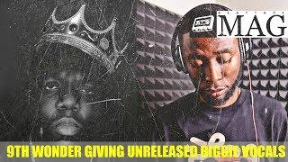 9th Wonder MAKE BEAT with UNRELEASED BIGGIE ACAPELLA | BeatTapeMAG.com