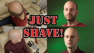 Shaving your head and the difference it makes - Dating tips for bald guys (don't exist) - Part 09