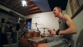 BOYSETSFIRE- Bathory's Sainthood - Brett Dahlberg (Drum Cover)
