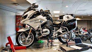 BMW R1200RT Police!! • Epically Fun RT-LTD Ride!   TheSmoaks Vlog_921