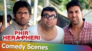 Best of Comedy Scenes   Superhit Movie Phir Hera Pheri   Paresh Rawal - Akshay Kumar - Rajpal Yadav