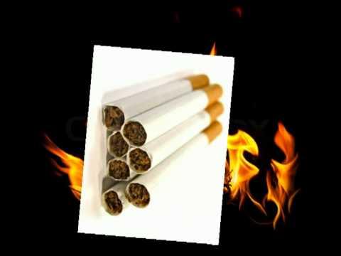 Die Ikone Rauchen aufzugeben