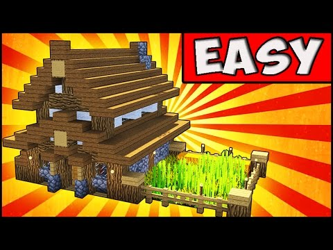 Simple Compact And Cute Survival House Minecraft Tutorial Minecraft Map