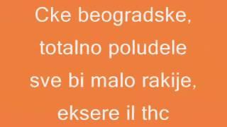 Gazda Paja - Cke Beogradske lyrics