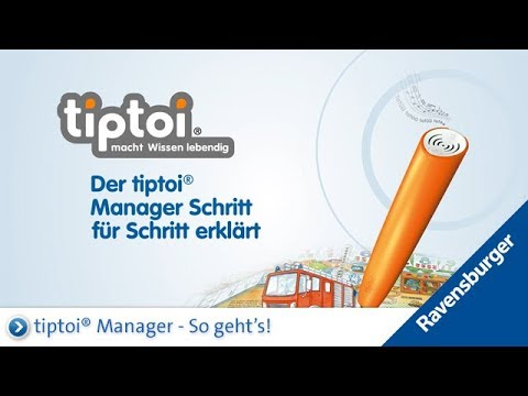 So funktioniert der tiptoi® Manager