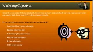 Entrepreneurship Training Tutorials