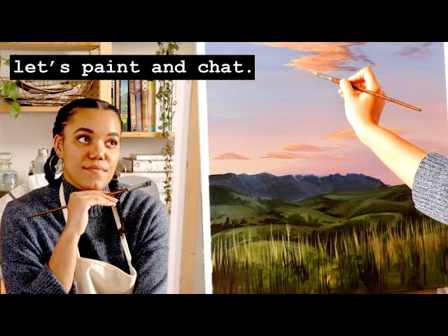 Stay Home With Me · Real-Time Paint and Chat · 1 Hour in the Studio · #6