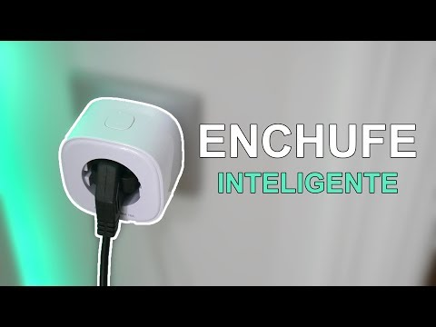 Un enchufe inteligente con WiFi, control remoto, compatible con Google Home...