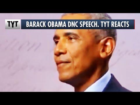 Barack Obama's DNC Speech. TYT Reacts
