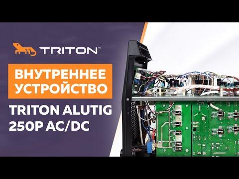 Внутреннее устройство TRITON ALUTIG 250P AC/DC