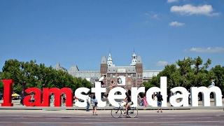 I Amsterdam sign Amsterdam Museumplein