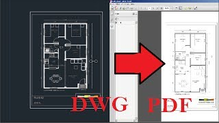 Transformar De DWG A PDF ---Fácil---