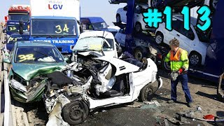 CAR CRASHES IN AMERICA. BAD DRIVERS USA AND CANADA | Crazy Drivers Car Crashes #113