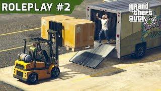 GTA 5 ROLEPLAY FORKLİFT İŞİ !! 😊 BÖLÜM #2