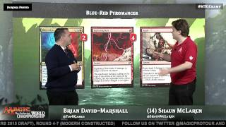 2015 Magic World Championship Deck Tech: Blue-Red Pyromancer with Shaun McLaren