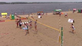 Самара. Фестиваль пляжных видов спорта