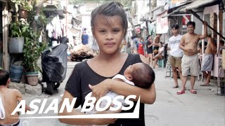 Meet A 15-year-old Teen Mom In The Philippines | ASIAN BOSS
