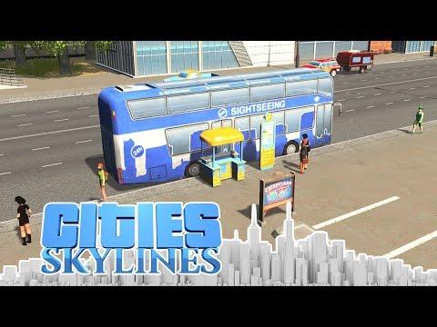 Sightseeing Touren in Cities! - Cities Skylines - DLC City 118