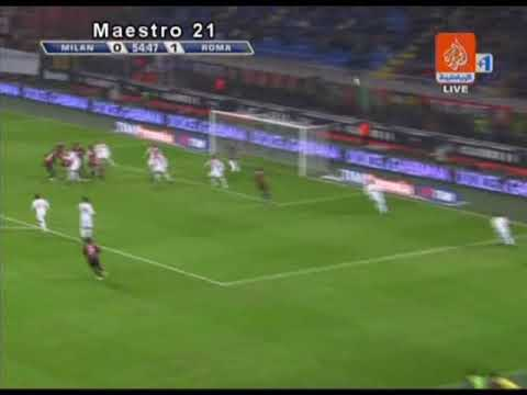 Highlights _ AC Milan 2-1 Roma - 18/10/2009