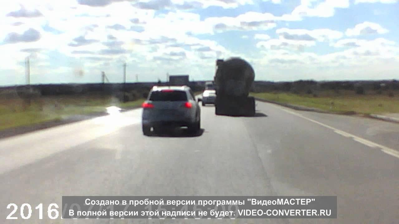 Смертельное столкновение цементовоза и трех легковых автомобилей в Ленинградской области