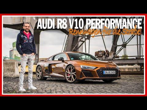 Ein RENNWAGEN für die Straße! Audi R8 V10 performance (620 PS) - Test mit Benjamin Brodbeck