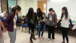 Lead to Change team building activity