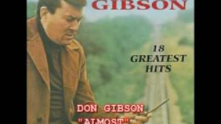 "DON GIBSON - ""ALMOST"""