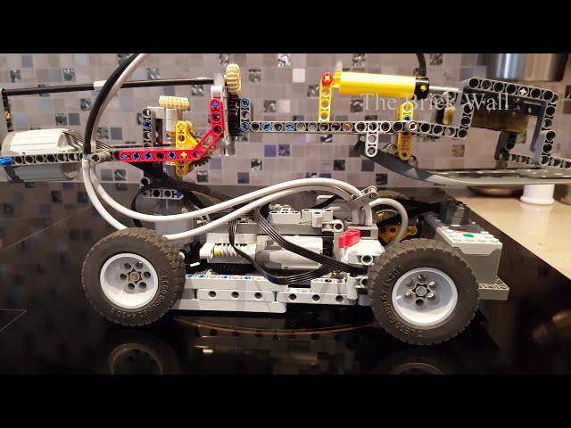 Этот маленький Lego-повар виртуозно готовит яичницу с беконом