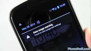 Get Rid Of Data Usage Warning In Notification Bar (for Android)