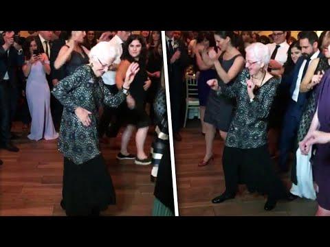 96-Year-Old Grandma Can Still Get Down