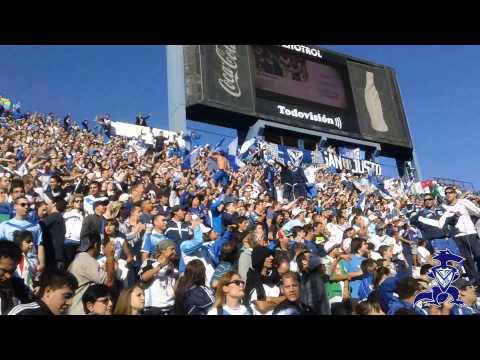 """[HINCHADA] Velez Vs San Lorenzo - T Final 13 - Fecha 08"" Barra: La Pandilla de Liniers • Club: Vélez Sarsfield • País: Argentina"