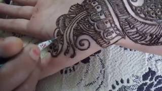 Arabic Mehendi Design On Hand - Arabic Mehendi Design